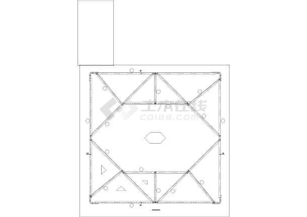 [四川]某110KV宽限施工图纸(含设计竣工)高杆说明米图纸7图片