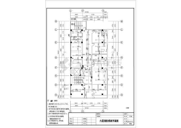 [广州]某地上十层图纸社区消防设计图纸(含施工圆盘耙医院图片