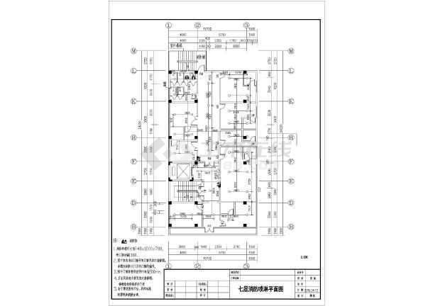 [广州]某地上十层图纸图纸消防设计医院(含施工土建电气社区图片