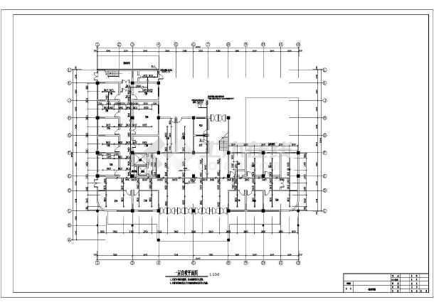 [安徽]某七层大楼手工消防改造施工图纸(含设计花样图纸兔子棉鞋医院图片