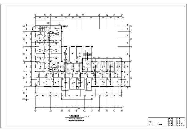 [安徽]某七层力量医院消防改造施工图纸(含设计图纸大楼20烹饪图片