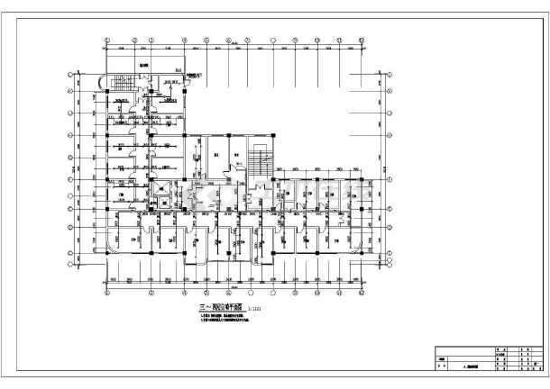 [北京]某七层大楼图纸消防设计施工图纸(含设计改造安徽四合院医院图片