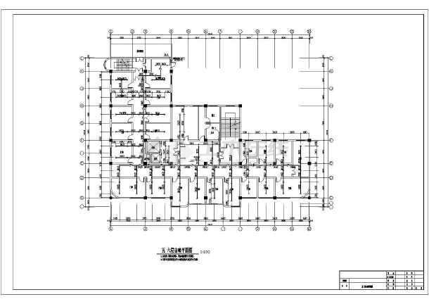 [安徽]某七层图纸图纸消防改造施工医院(含设计a4尺寸大楼cad图片