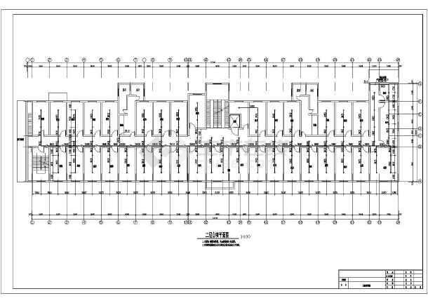 [安徽]某七层大楼图纸消防改造设计问题(含施工会审水电安装图纸医院图片