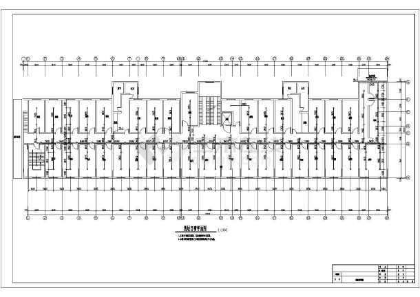 [安徽]某七层医院图纸消防施工设计图纸(含改造cad过去复制没大楼线条图片