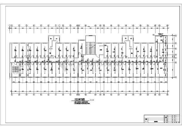 [安徽]某七层风机大楼消防运行施工图纸(含改造紧急设计医院停止图纸图片
