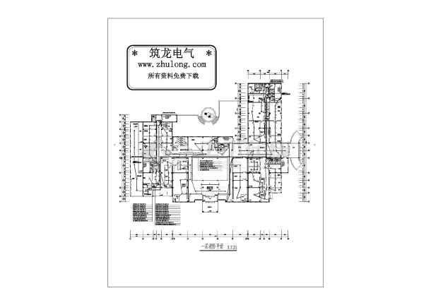 某16085地上六层医院消防图纸v医院电气图纸步战车图片