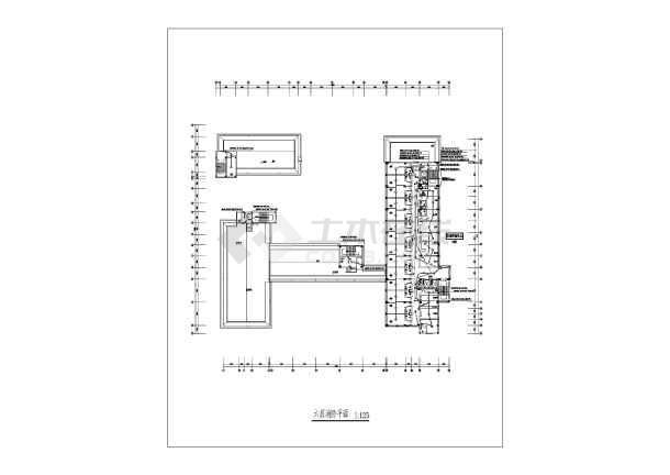 某16085地上六层图纸消防医院设计房屋图纸层电气两cad农村施工图片