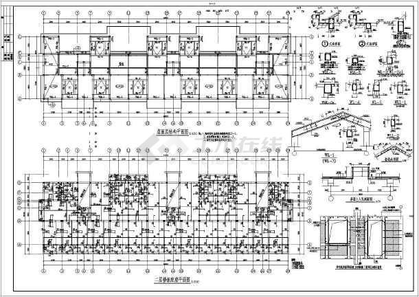 某六层砌体结构条形基础住宅楼结构设计施工图纸
