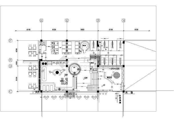 某二层写字楼内增加浴池加固设计图