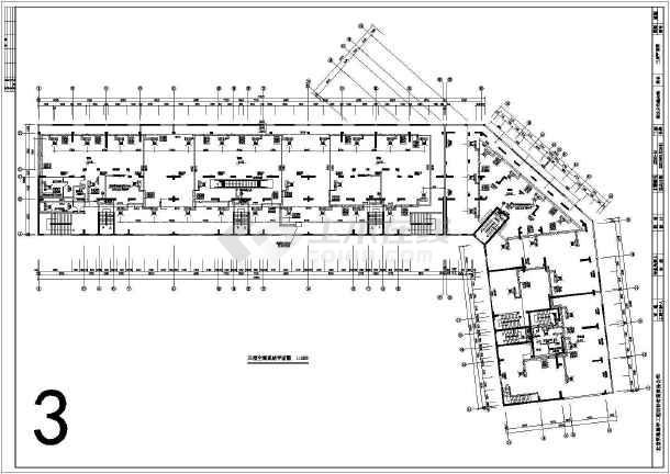 某综合性商场,住宅空调设计图