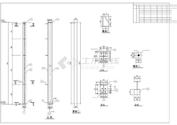 某18米跨钢结构厂房设计图(含结构设计说明)