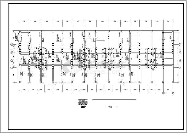 某砖混底框抗震墙建筑结构图纸(建筑设计说明)