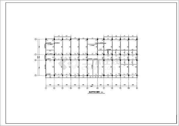 某4973㎡大学六层框架结构学生公寓毕业设计(含计算书