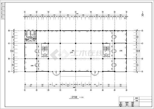 5000平米四层框架结构商场毕业设计(含计算书横道图建筑图结构图)