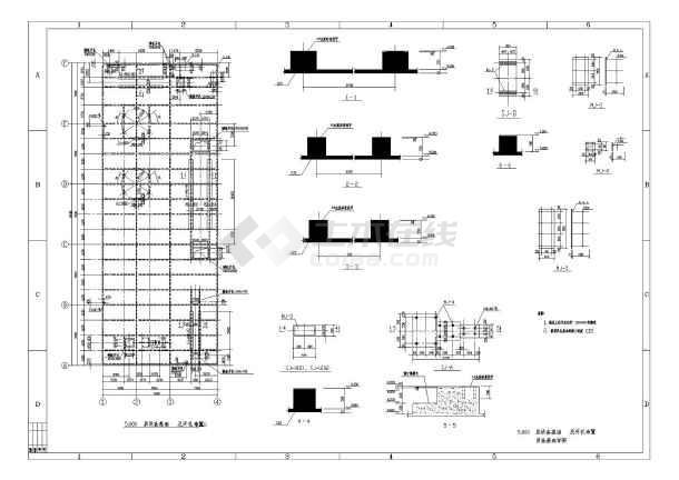 某双层钢结构厂房图纸