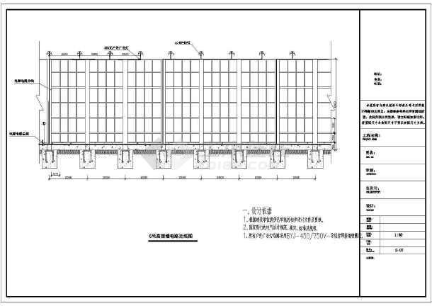回迁房钢结构广告图纸施工图纸三室围挡厅平米设计两一百图片