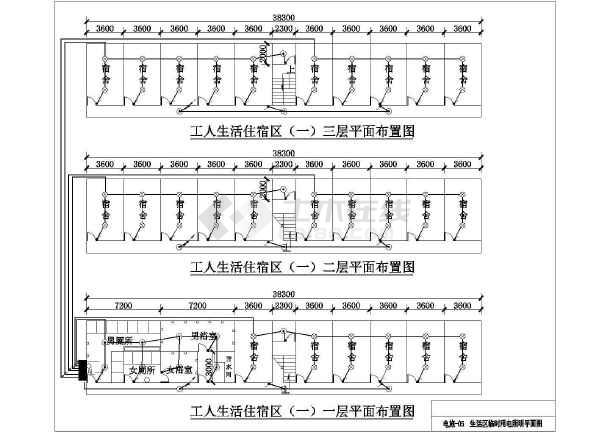 【江苏】某施工图纸项目部临时用电设计眼球工地舱图纸保养机图片