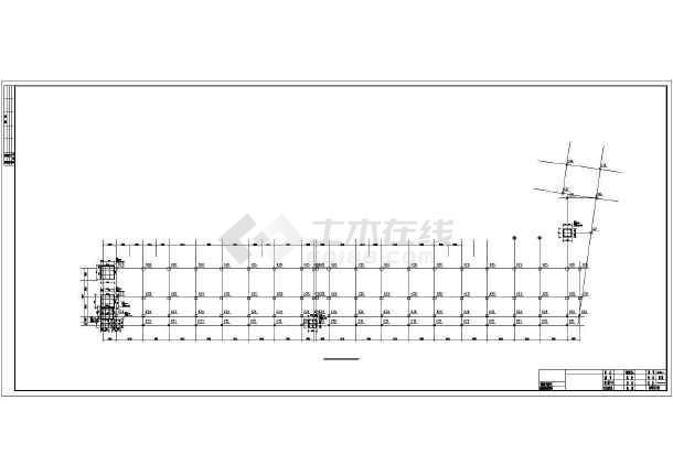 某地上八层砖混结构住宅楼结构设计图(独立基础)图片
