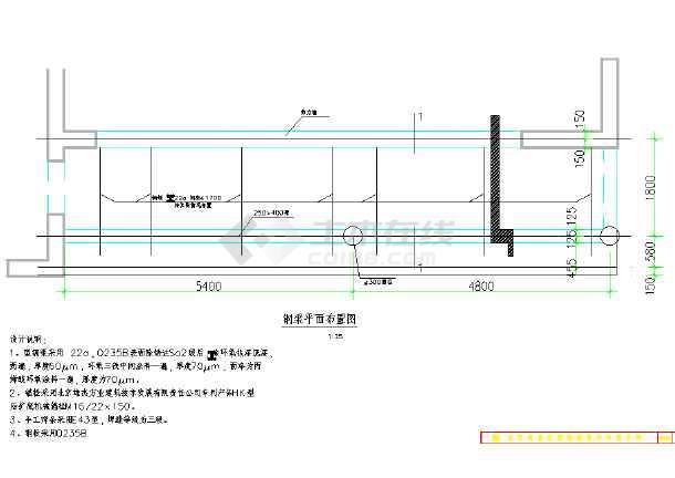 某悬挑阳台用钢结构加固做法