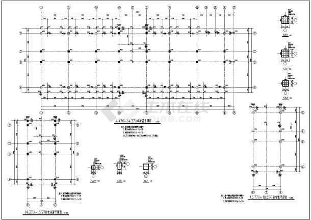 某卫生室结构设计图(条形基础,共12张)