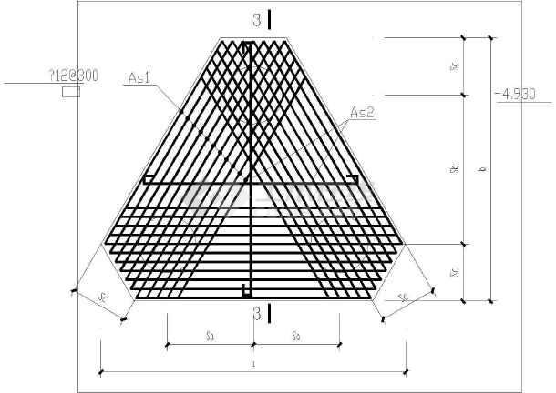 某基坑围护结构设计图,共9张图