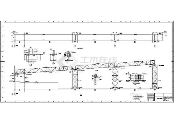 某煤矿皮带廊结构设计图(桩基础,共16张)