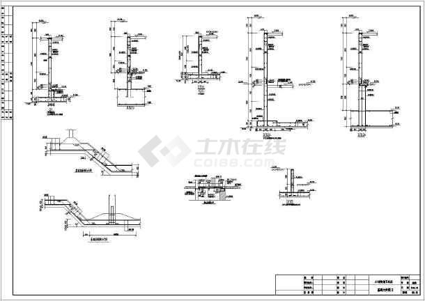 [山东]地下单层框架结构地下车库结构施工图