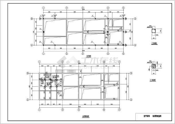 【新疆】某面粉库房污水处理工程建筑结构图