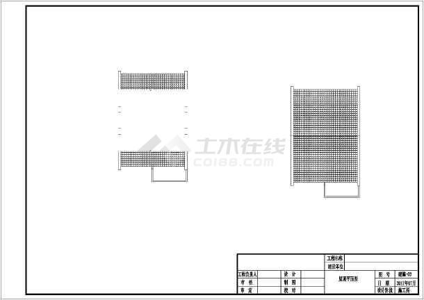某两层砖混结构农村自建房结构设计施工图