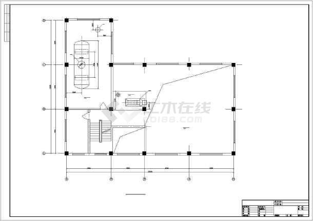 某十吨锅炉房设计图纸图片
