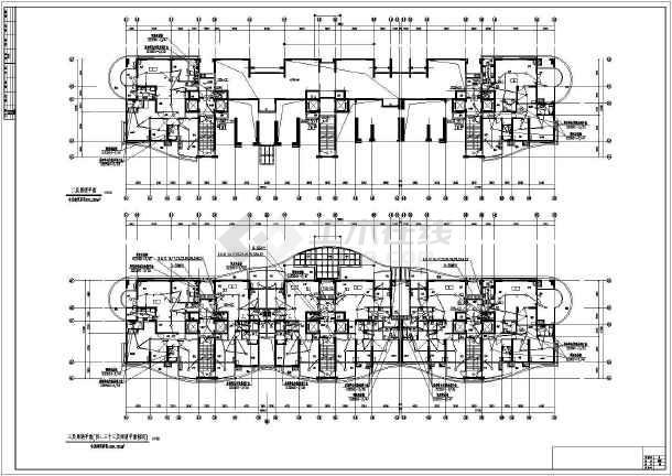 华中某城市百年豪宅电气设计图