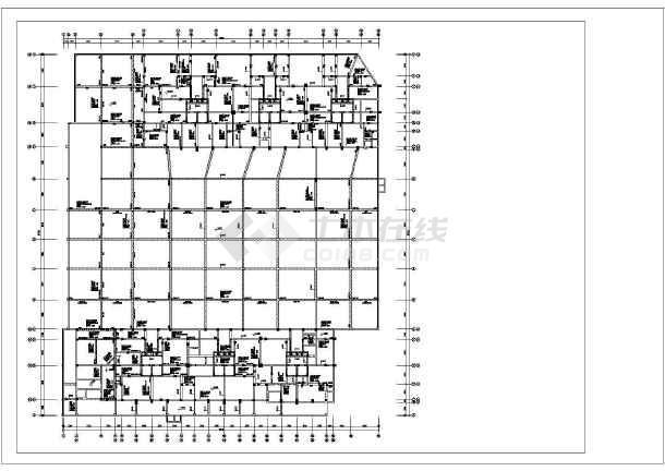 某市15层安置房图纸v图纸暖通245mps图纸图片