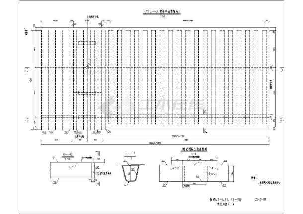 图纸钢结构安装v图纸组织设计(共34页,含CAD施cad选中未响应以后桥梁图片