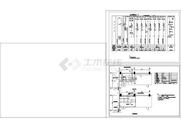 钢结构工业厂房照明设计cad图纸,含比例设计图纸上的6怎么电气是算的图片