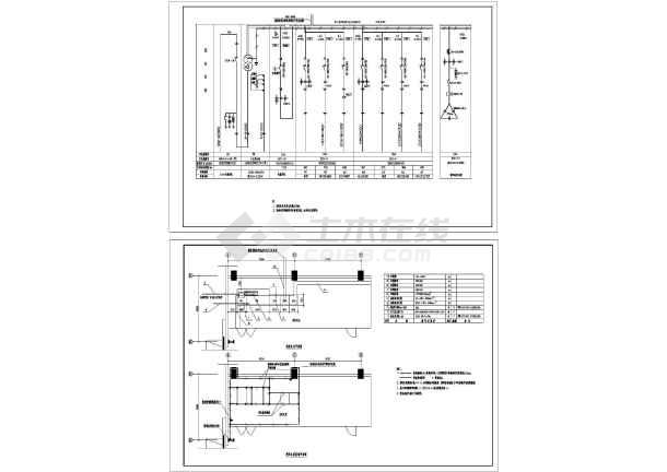 钢结构工业厂房图纸设计cad多层,含图纸设计照明办公楼设计电气图片