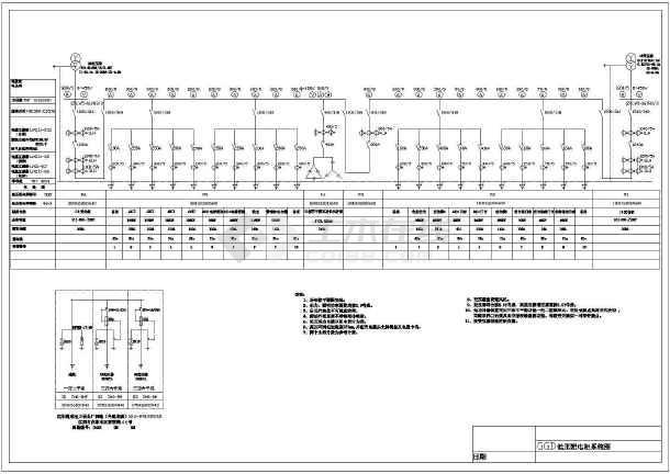 某图纸图纸户型设计cad住宅70箱变小平方电气设计图片