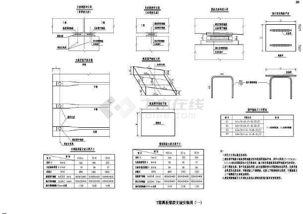 单薄壁实心墩结构桥梁下部结构施工图(91张)