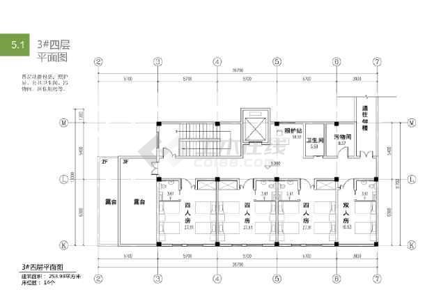[上海]传统中式风格养老院建筑设计方案文本(含cad)图片