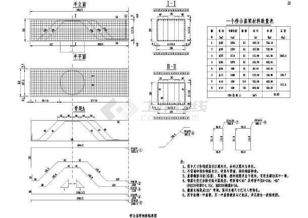 图纸预应力桥上部梯子CADv图纸结构(二级公路乐高图纸公路图片