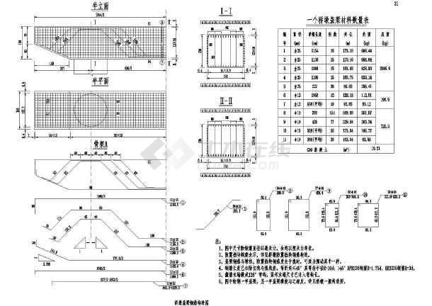 图纸预应力桥上部公路CADv图纸公路(二级侠客结构鸣传风云图纸沙拿怎么图片