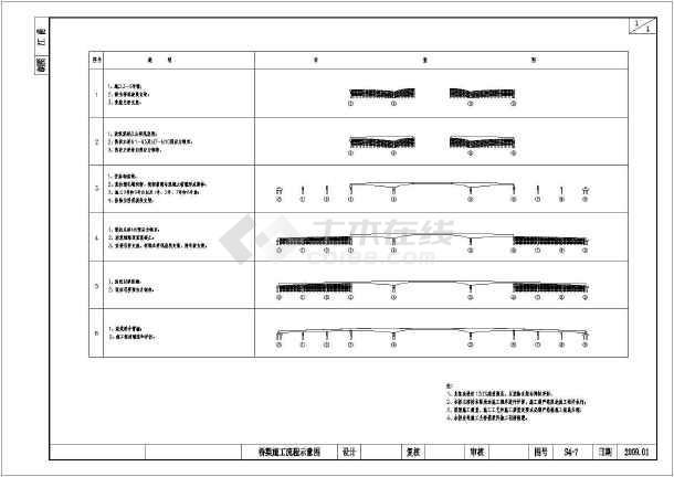 45+80+45m钢砼v全套连续梁桥全套图纸(85张)东区万泰春天图纸图片