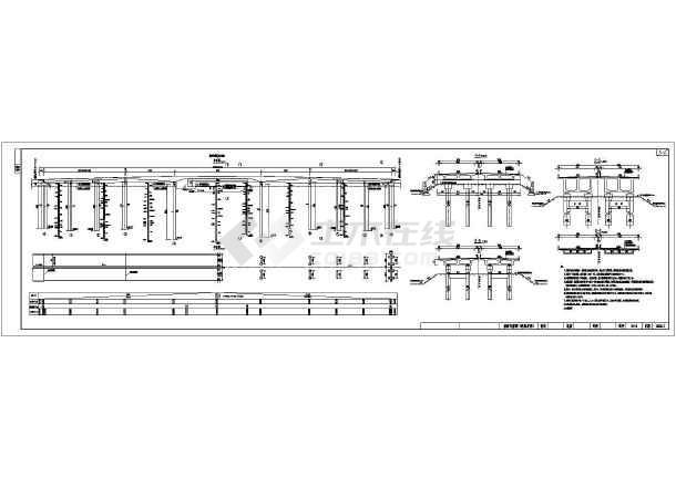 45+80+45m钢砼v全套连续梁桥全套图纸(85张)图纸识别电气快速图片