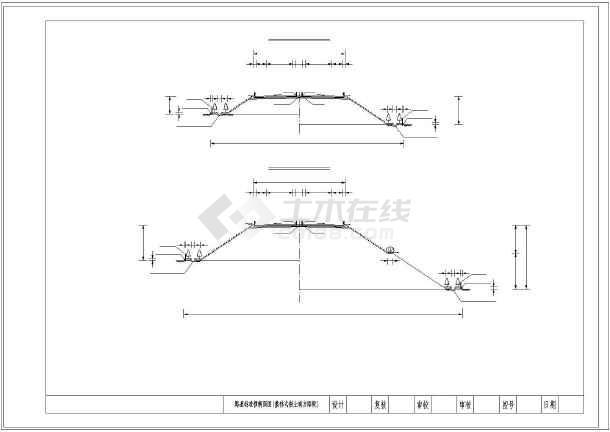 高速公路26米标准代表横断面图纸(路堑路基匝mt2o图纸中在路堤cc什么意思一图片