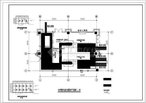 大型小区配变电所设计图30张