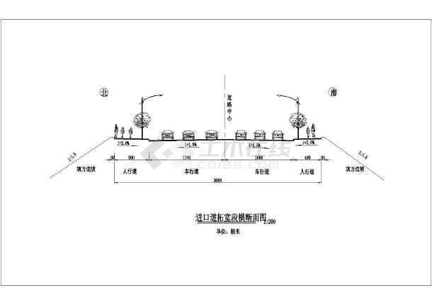 【山东】市政道路管网工程设计图85张(给水雨污水热力