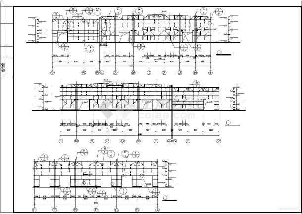 某全钢结构轻钢厂房建筑结构全套图纸