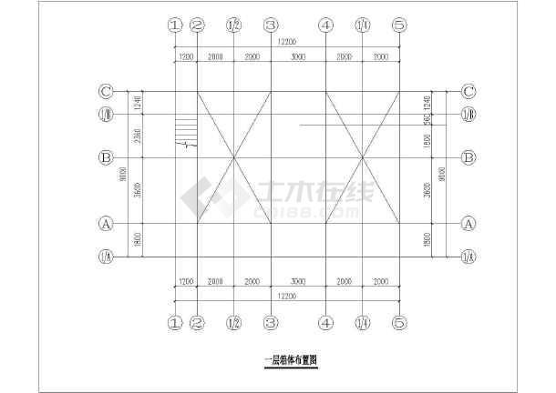 集装箱建筑CAD模特(共5套图纸)cad图纸立面图片