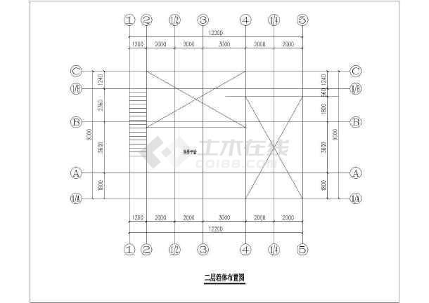 集装箱建筑CAD图纸(共5套图纸)cad多重参照图片