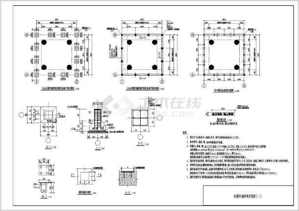 35kV围栏图纸v围栏下线CAD电缆cad建新块图片